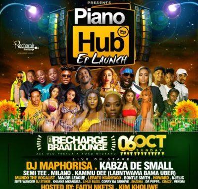 Kabza De Small & DJ Maphorisa – Piano Hub Mix Sunday 6th Oct Recharge Midrand